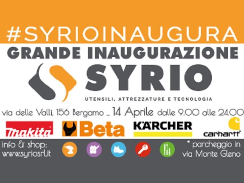 Grande Inaugurazione SYRIO